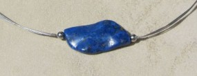 Damenhalskette Blue Wave