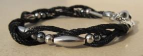 Armband Shining Black aqua plus