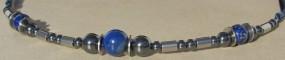 Damenhalskette Blue Line aqua plus