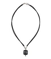 Kowal Outdoorschmuck Damenhalskette Black Motion, Aufsicht, klein