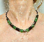 Kowal Outdoorschmuck Damenhalskette Aventuri aqua plus, in der Dusche getragen, klein