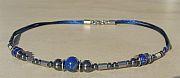 Kowal Outdoorschmuck Damenhalskette Blue Line aqua plus, Frontansicht, klein