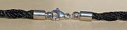 Kowal Outdoorschmuck Damenhalskette Shinimg Black aqua plus, Verschluss, klein