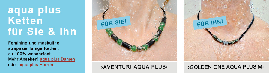 Kowal Outdoorschmuck aqua plus Ketten 1